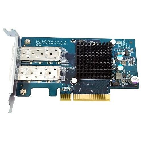 QNAP LAN-10G2SF-MLX 10Gigabit Ethernet Card for NAS Storage Device