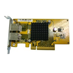 QNAP LAN-1G2T-D Gigabit Ethernet Card for PC