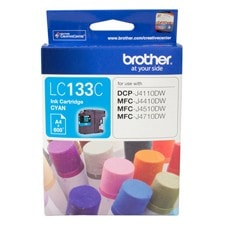 Brother Innobella LC133C Original Ink Cartridge - Cyan