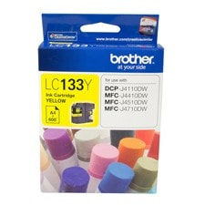 Brother Innobella LC133Y Original Ink Cartridge - Yellow