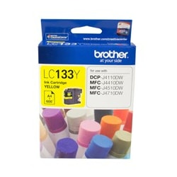 Brother Innobella LC133Y Ink Cartridge - Yellow