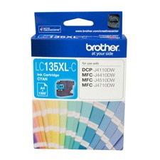 Brother Innobella LC135XLC Original Ink Cartridge - Cyan