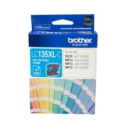 Brother Innobella LC135XLC Ink Cartridge - Cyan