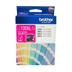Brother Innobella LC135XLM Ink Cartridge - Magenta