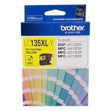 Brother Innobella LC135XLY Original Ink Cartridge - Yellow