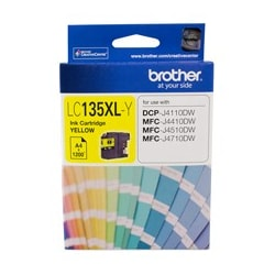 Brother Innobella LC135XLY Ink Cartridge - Yellow