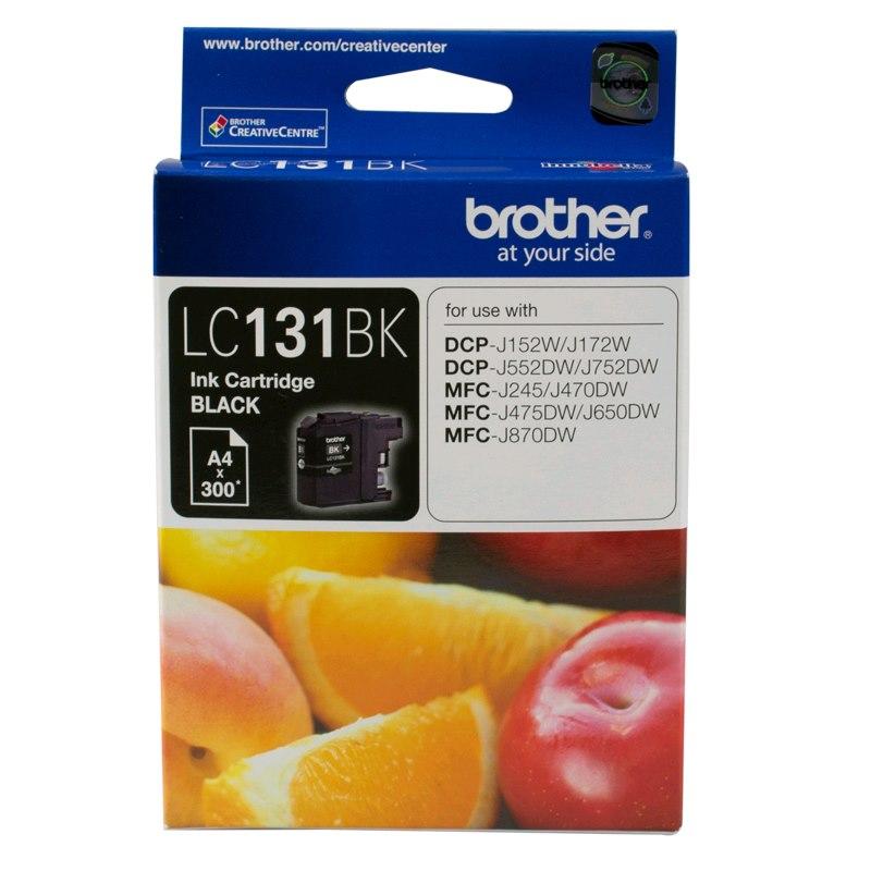 Brother LC-131BK Original Ink Cartridge - Black