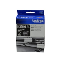 Brother LC139XL-BK Ink Cartridge - Black