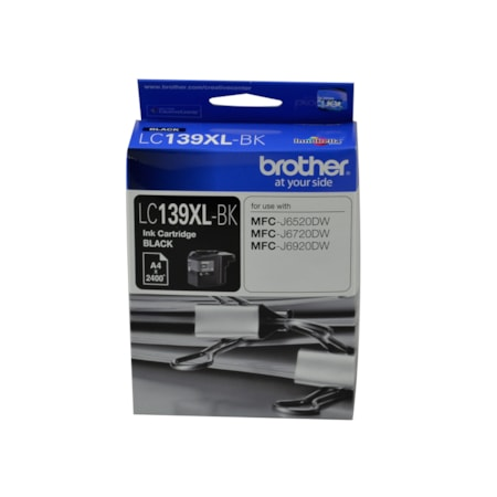 Brother LC139XL-BK Original Ink Cartridge - Black