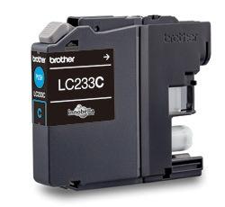 Brother LC233C Original Ink Cartridge - Cyan