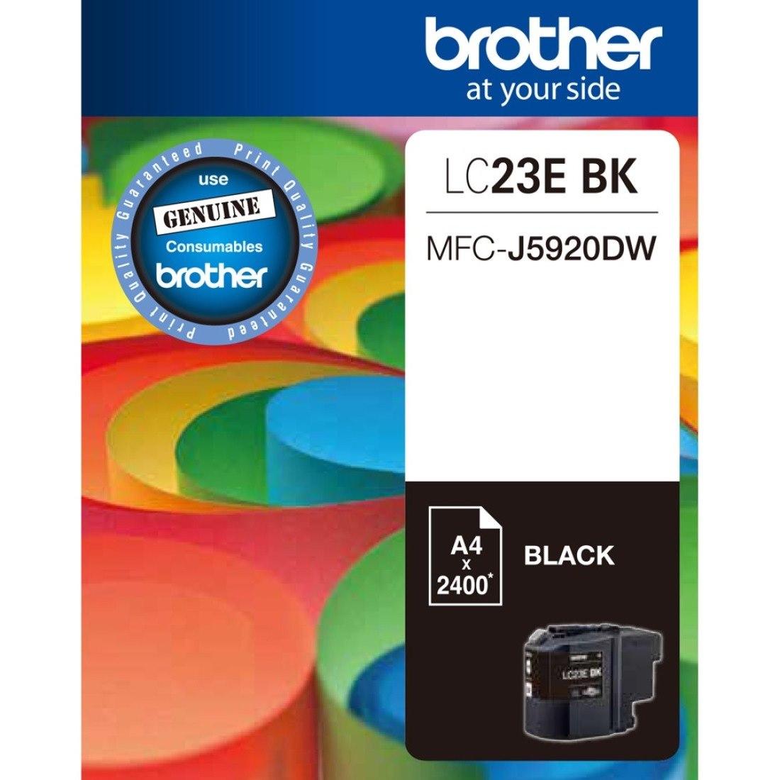 Brother LC23EBK Ink Cartridge - Black