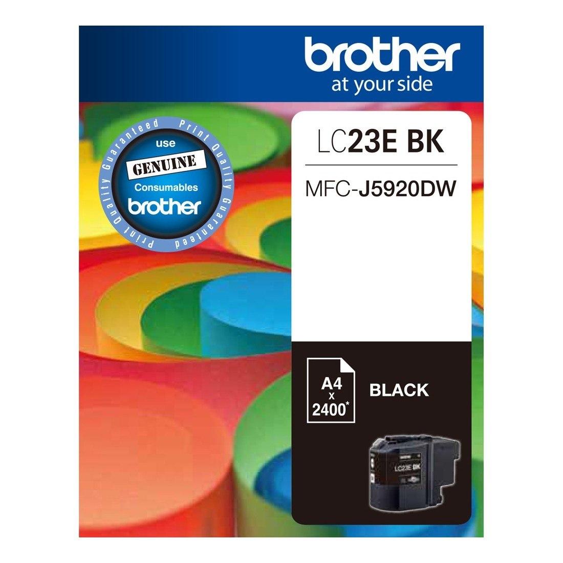 Brother LC23EBK Original Ink Cartridge - Black