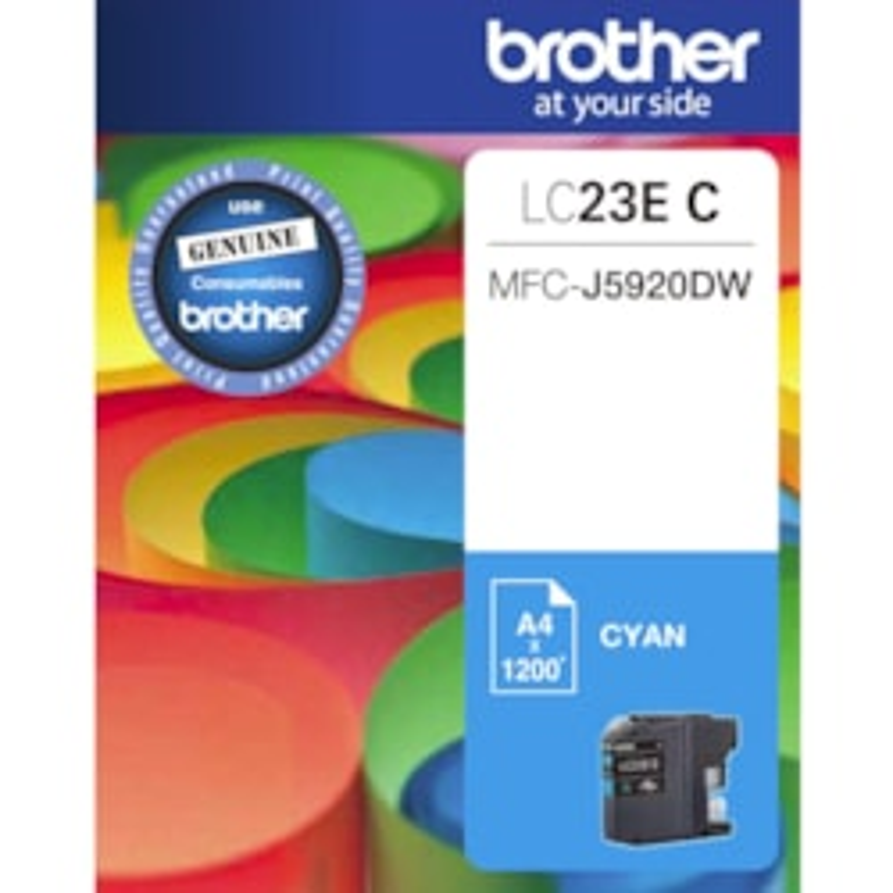 Brother LC23EC Original Ink Cartridge - Cyan