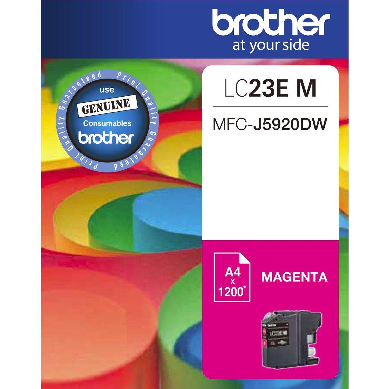 Brother LC23EM Original Ink Cartridge - Magenta