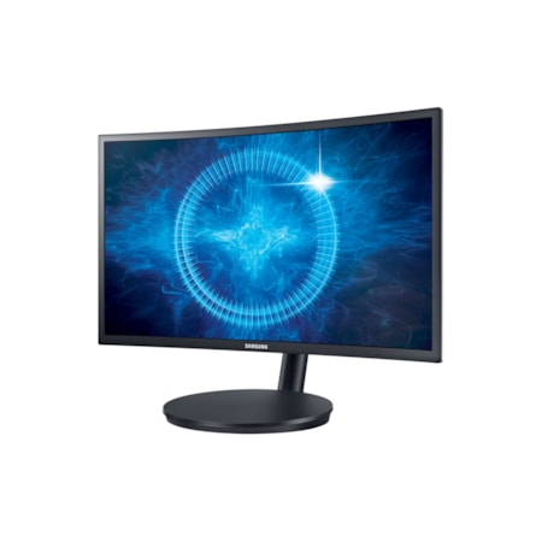 "Samsung C24FG70FQE 59.7 cm (23.5"") Full HD Curved Screen LED LCD Monitor - 16:9 - Black, Dark Blue"