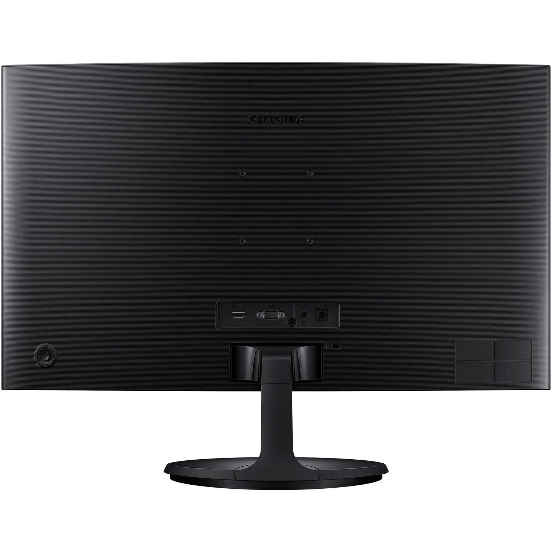 "Samsung C27F390FHE 68.6 cm (27"") Full HD Curved Screen LED LCD Monitor - 16:9 - High Glossy Black"
