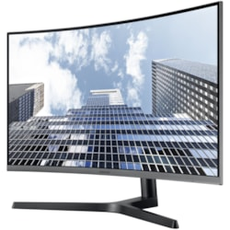 "Samsung C27H800FCE 68.6 cm (27"") Full HD Curved Screen LED LCD Monitor - 16:9 - Black, Dark Silver"
