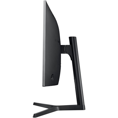 "Samsung C27H800FCE 68.6 cm (27"") Full HD Curved Screen LED LCD Monitor - 16:9 - Black, Dark Silver"