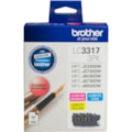 Brother LC33173PK Original Ink Cartridge - Cyan, Magenta, Yellow