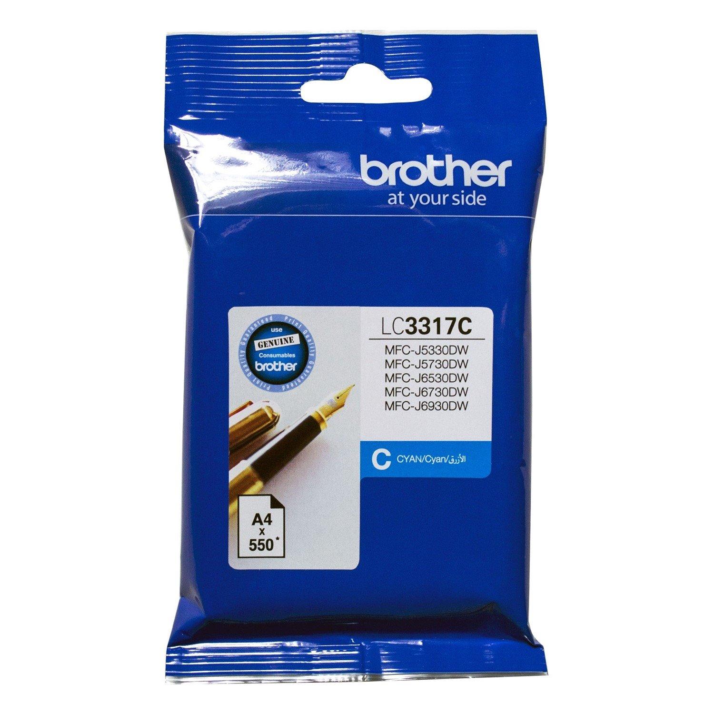 Brother LC3317C Original Ink Cartridge - Cyan