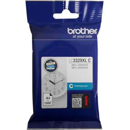 Brother LC3329XLC Ink Cartridge - Cyan