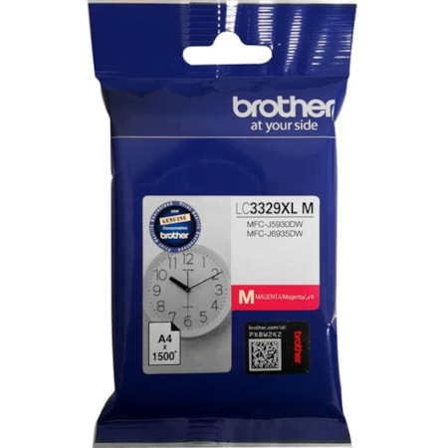Brother LC3329XLM Original Ink Cartridge - Magenta