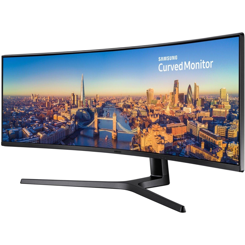 "Samsung C49J890DKE 124.2 cm (48.9"") Curved Screen LCD Monitor - 32:9 - Charcoal Black Hairline"
