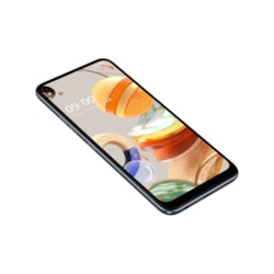 "LG K61 LMQ630EAW 128 GB Smartphone - 16.6 cm (6.5"") LCD Full HD Plus 2340 x 1080 - 4 GB RAM - Android 9.0 Pie - 4G - Titan Gray"