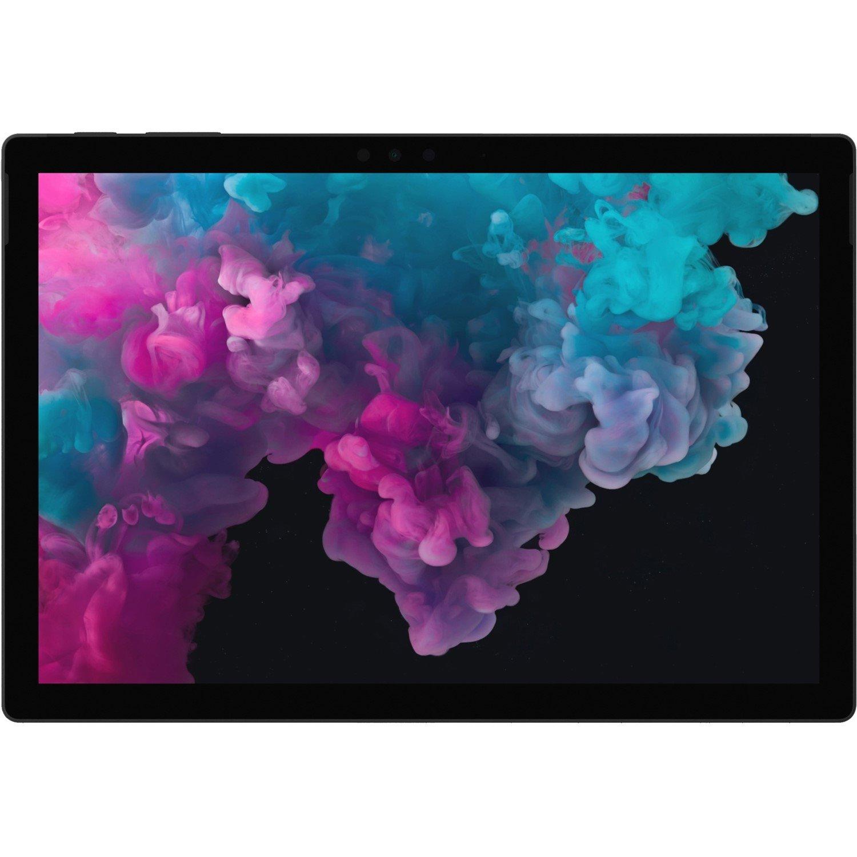 "Microsoft Surface Pro 6 Tablet - 31.2 cm (12.3"") - 8 GB - Intel Core i7 (8th Gen) - 256 GB SSD - Windows 10 Pro - 2736 x 1824 - PixelSense - Black"