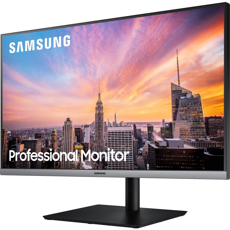 "Samsung 27"" (16:9) Ips Led, 1920X1080, 5MS, D-Sub, DP, Hdmi, Pivot, Tilt, H/Adj, Vesa, 3YR"