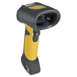 Zebra Symbol LS3408-ER Handheld Barcode Scanner - Cable Connectivity - Yellow, Black