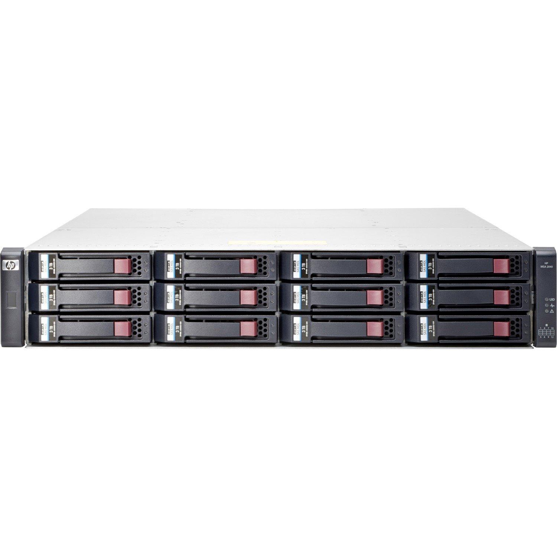 HP MSA 2040 ES LFF Disk Enclosure - 2U Rack-mountable (M0S96A)