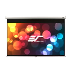 "Elite Screens Manual M119XWS1 Manual Projection Screen - 302.3 cm (119"") - 1:1 - Wall/Ceiling Mount"