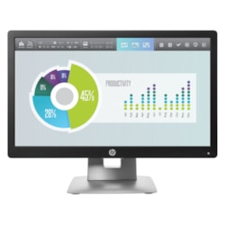 "HP Business E202 50.8 cm (20"") HD+ LED LCD Monitor - 16:9 - Black, White"