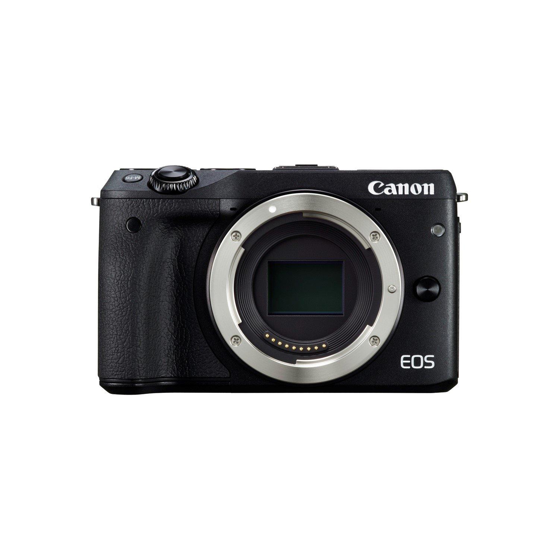 Canon EOS M3 24.2 Megapixel Mirrorless Camera Body Only - Black