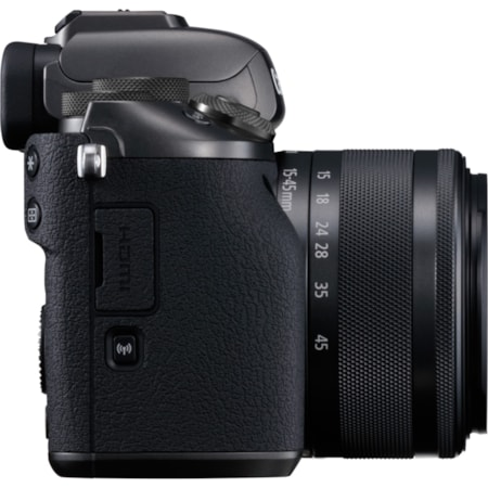 Canon EOS M5 24.2 Megapixel Mirrorless Camera with Lens - 15 mm - 45 mm