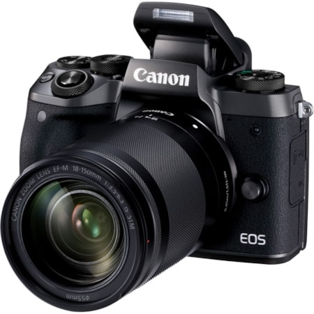 Canon EOS M5 24.2 Megapixel Mirrorless Camera with Lens - 18 mm - 150 mm