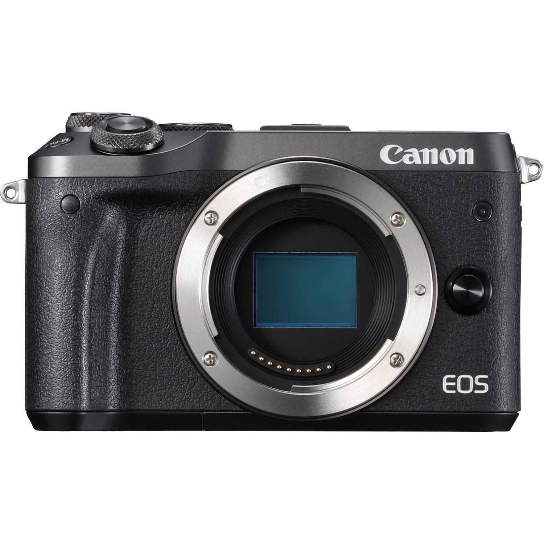 Canon EOS M6 24.2 Megapixel Mirrorless Camera Body Only - Black