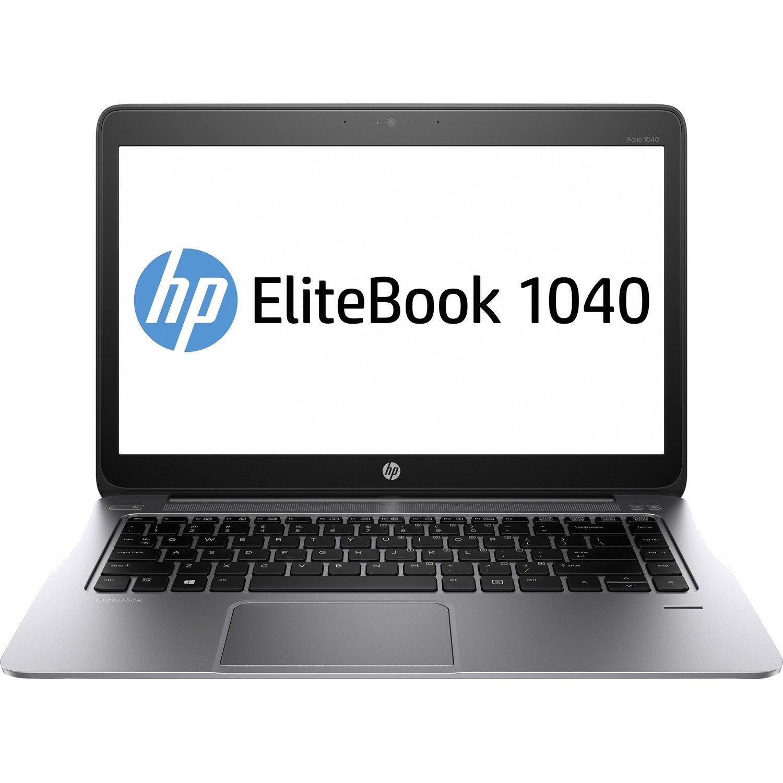 "HP EliteBook Folio 1040 G1 35.6 cm (14"") LCD Ultrabook - Intel Core i5 (4th Gen) i5-4200U Dual-core (2 Core) 1.60 GHz - 8 GB DDR3L SDRAM - 256 GB SSD - Platinum"
