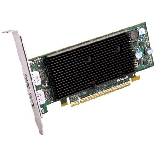 Matrox M9128 Graphic Card - 1 GB DDR2 SDRAM - Low-profile