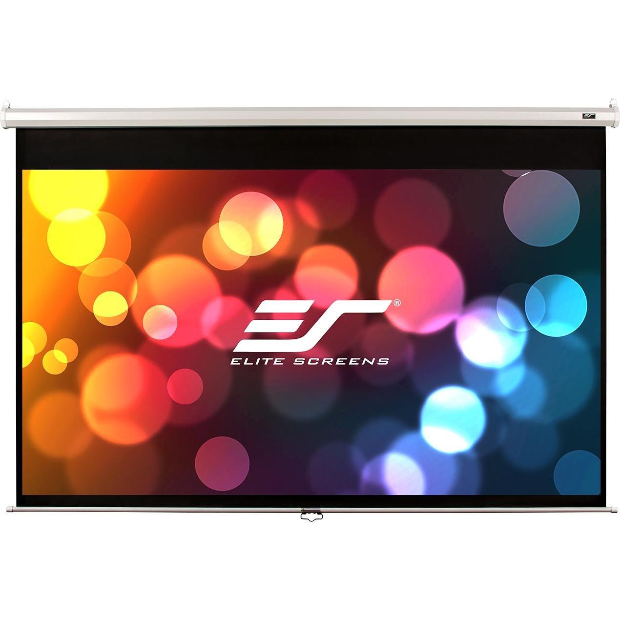 "Elite Screens Manual M92XWH 233.7 cm (92"") Manual Projection Screen"