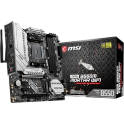 MSI MAG B550M MORTAR WIFI Desktop Motherboard - AMD Chipset - Socket AM4