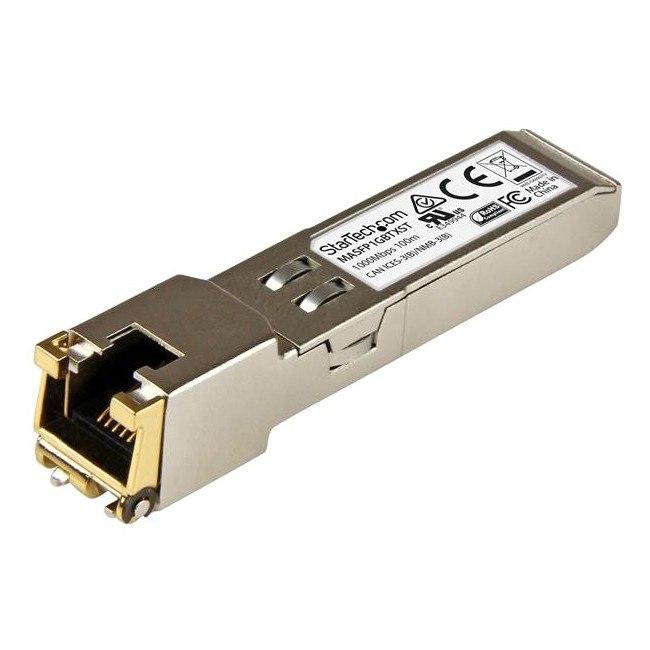 StarTech.com SFP (mini-GBIC) - 1 RJ-45 10/100/1000Base-T Network LAN