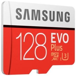 Samsung EVO Plus 128 GB Class 10/UHS-I (U3) microSDXC