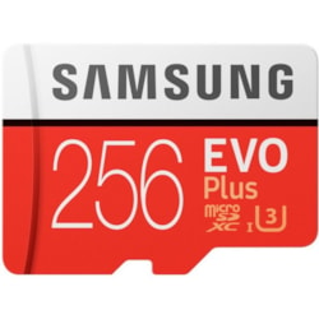 Samsung EVO Plus 256 GB microSDXC