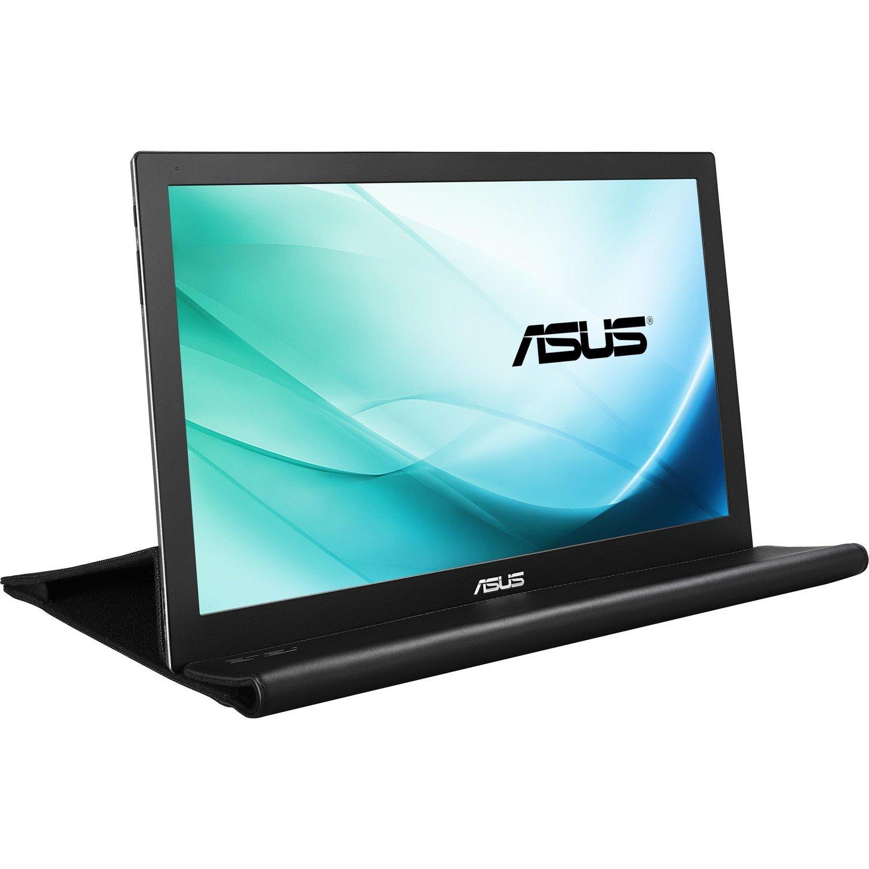 "Asus MB169B+ 39.6 cm (15.6"") Full HD LED LCD Monitor - 16:9 - Silver, Black"