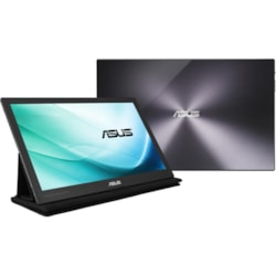 "Asus MB169C+ 39.6 cm (15.6"") Full HD LCD Monitor - 16:9 - Black, Silver"