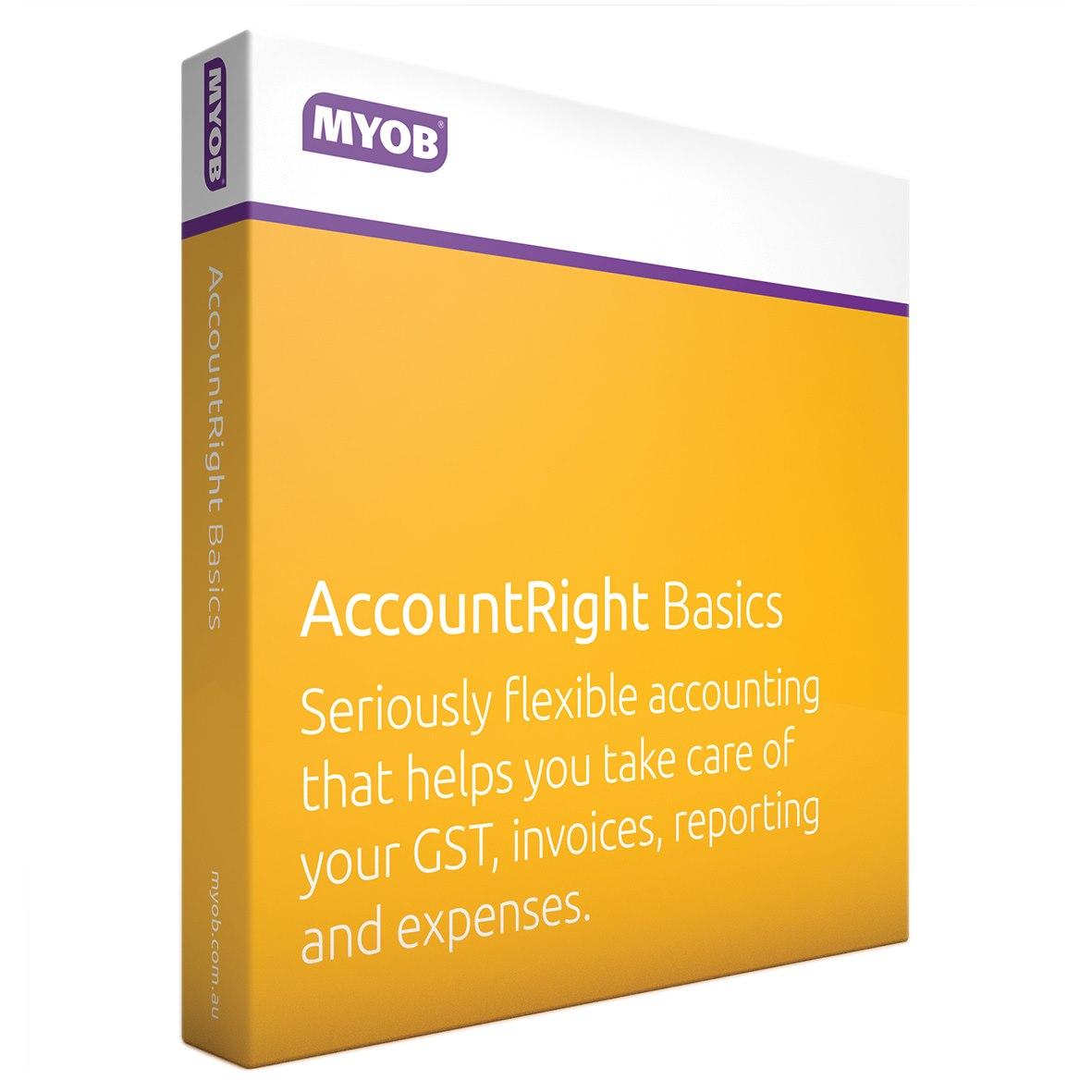 Myob AccountRight Basics