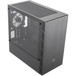 Cooler Master MasterBox MCB-B400L-KGNN-S00 Computer Case - Micro ATX, Mini ITX Motherboard Supported - Mini-tower - Plastic, Steel - Black - 5.47 kg