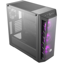Cooler Master MasterBox MB520 RGB Computer Case - ATX, Micro ATX, Mini ITX Motherboard Supported - Mid-tower - Steel, Plastic, Tempered Glass - Black